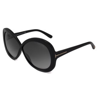 Tom Ford Women's TF0226 Margot Oversized Rectangular Sunglasses