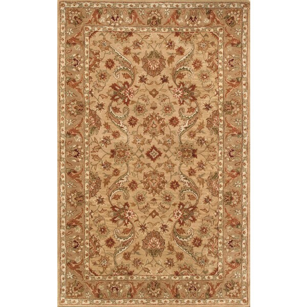 Harmony Beige/ Camel Rug (5 x 8)