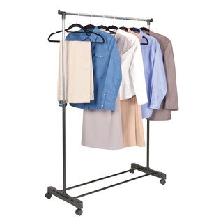 Richards Homewares Adjustable Rolling Garment Rack