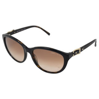 Jimmy Choo Women's 'Cecy/S' Havana Black Round Sunglasses