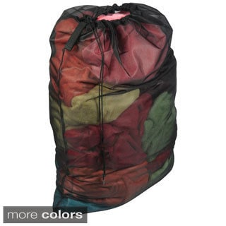 Richards Homewares Mesh Drawstring Laundry Bag