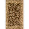 Harmony Brown / Gold 8 x 11-foot Rug