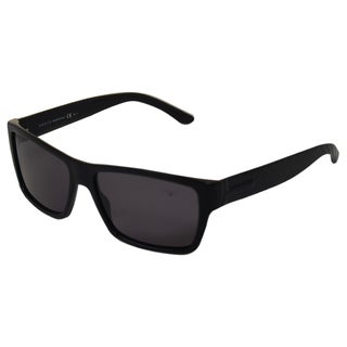 Gucci Men Black Polarized Sunglasses