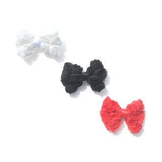 Bow Clippeez 2 Envy Rose Hair Bow (Set of 3)