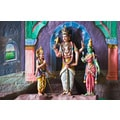 'Statue of Hindu God at Batu Caves' Photography Wall Art Canvas Print