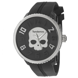 Tendence Men's 'Gulliver Hydrogen' Polycarbonate and Steel Watch