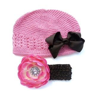 Bow Clippeez 2 Envy Boutique Crochet Hats (Set of 4)