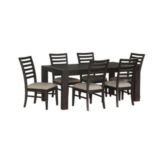 Java Urban Acaia Wood 7-piece Dining Set