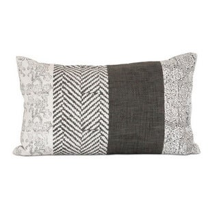 Medley Cotton 20-inch Down Filled Throw Pillow