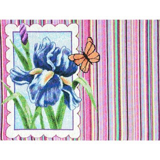 Floral Rainbow Placemats Set of 4