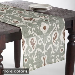 Ikat Design Jute Table Runner