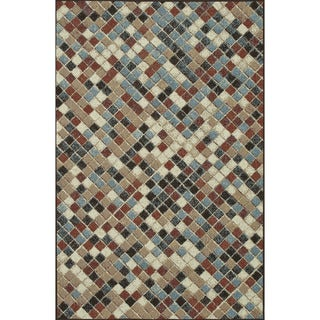 Indoor Outdoor Hudson Multi Rug ( 7'10 x 10'9)