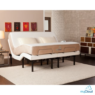 myCloud Gel Infused Memory Foam 10-inch Cal King-Size Mattress
