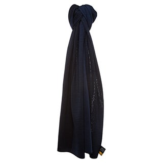 Fendi Micro Zucchino Dual Color Wool Scarf