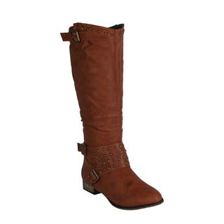 Machi Women's 'Ramsy-3' Knee-high Riding Boots