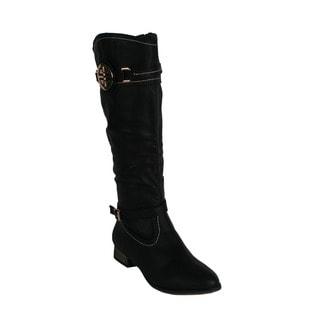 Machi Women's 'Ramsy-1' Women's Knee-high Riding Boots
