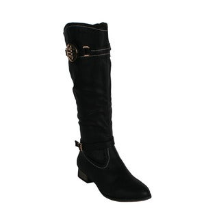 Machi Women's 'Ramsy-1' Women's Knee-high Riding Boots