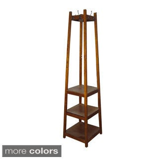 3-tier Tower Shoe/Coat Rack