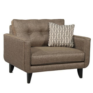 Beige Upholstered Park Avenue Chair