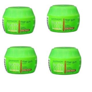 Garnier Fructis 5-ounce Extra Strong Style Fiber Gum Putty (Pack of 4)