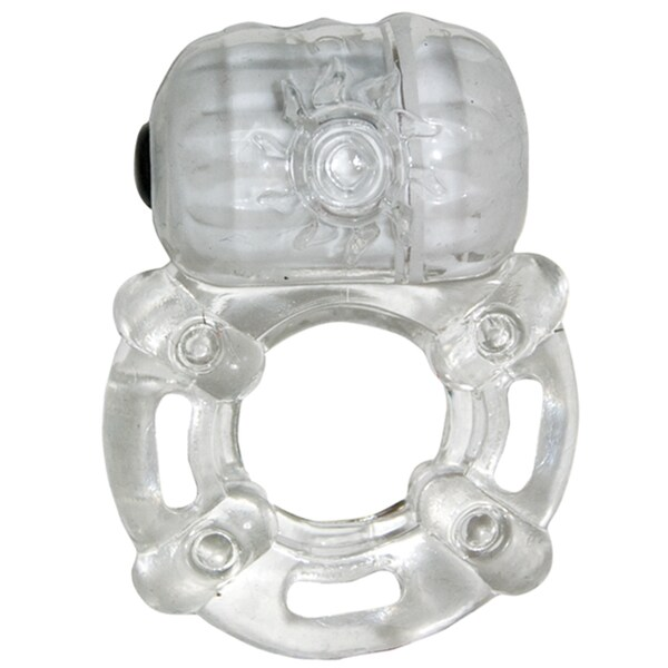 Nasstoys The Macho Crystal Collection Clear Pulsating Erection Keeper