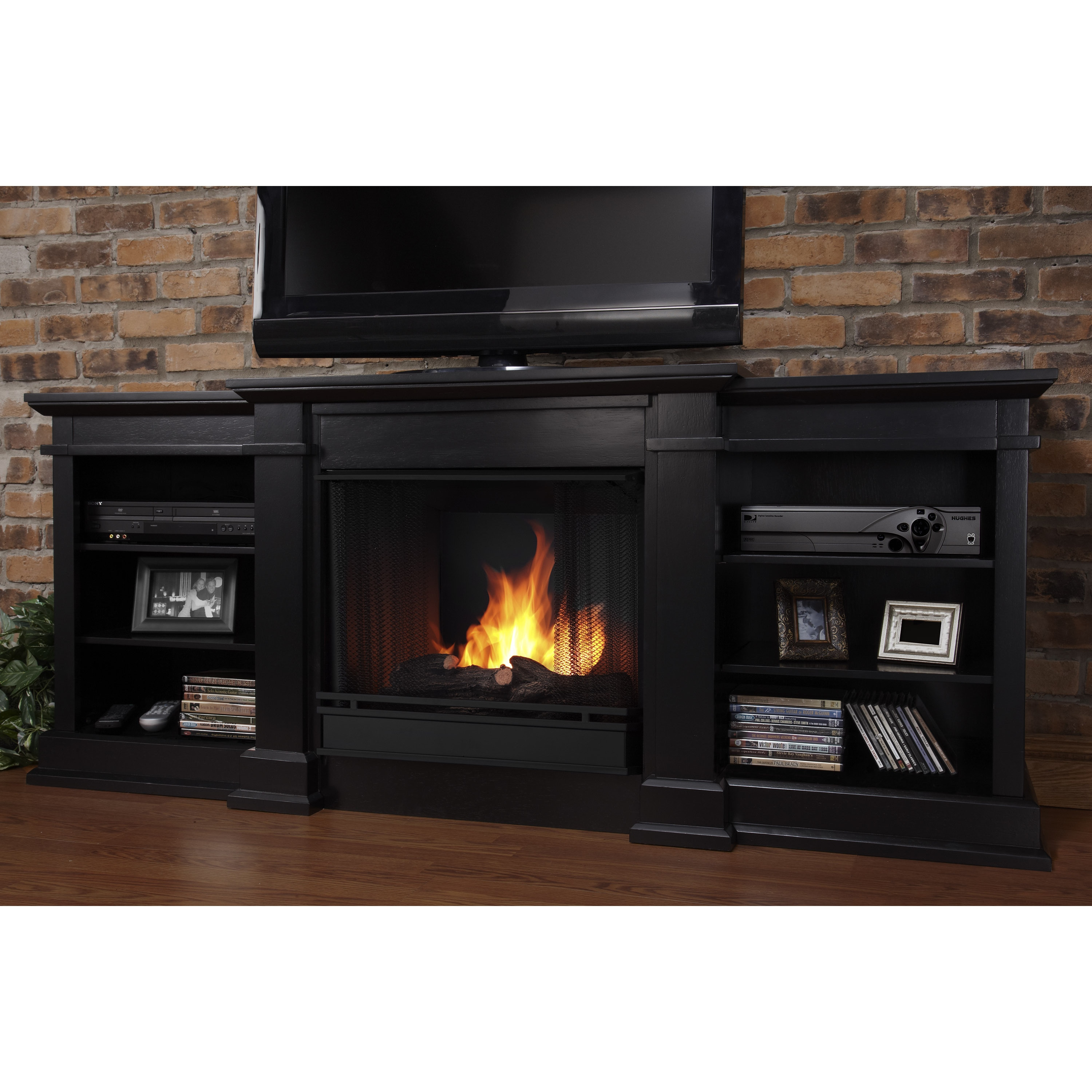 Real Flame Black Fresno Gel Fireplace at Sears.com