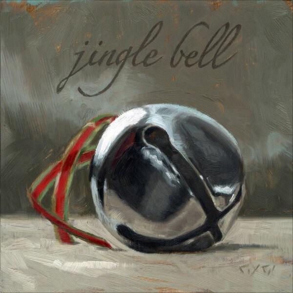 'Amberton Publishing Christmas Jingle Bell' Canvas Art