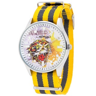 Ed Hardy Men's Maverick Yellow Watch