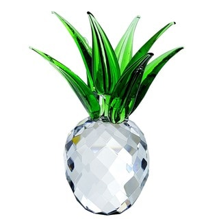 Crystal Florida Large Crystal Pineapple Sculpture