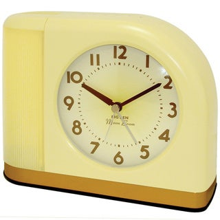 Big Ben Moonbeam Yellow Alarm Clock