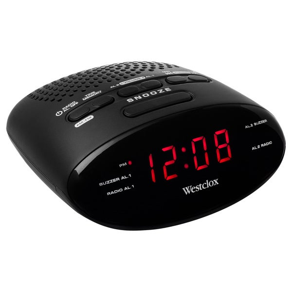 Clock Radio Digital Tuning