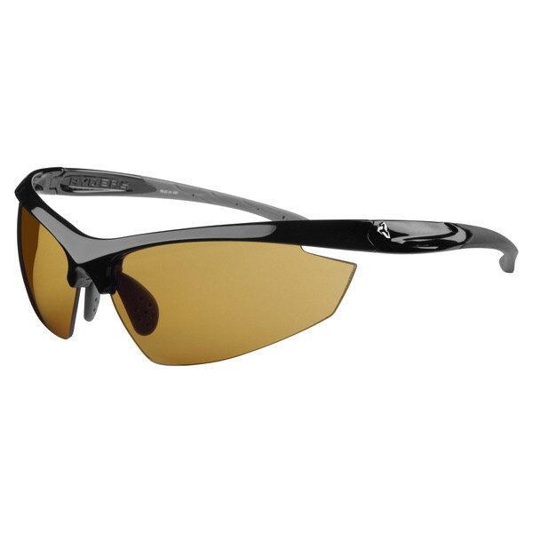 Ryders Unisex Granfondo Black Brown Lens Sunglases