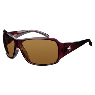 Ryders Unisex Caribou Polar Demi Brown Lens Sunglasses