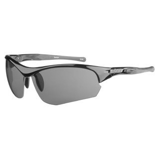 Ryders Unisex Swamper Gloss Black Grey Lens Sunglasses