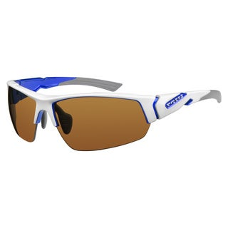 Ryders Unisex Strider Interx White with Blue Sunglasses
