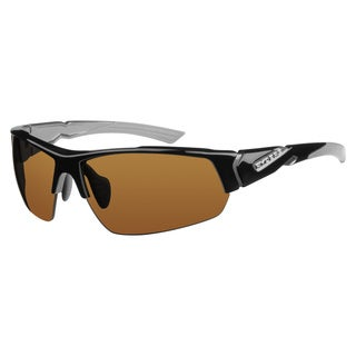 Ryders Unisex Strider Interx Black with Grey Sunglasses