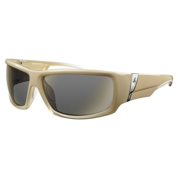 Ryders Unisex Bison XTAL Ivory Grey Lens Sunglasses