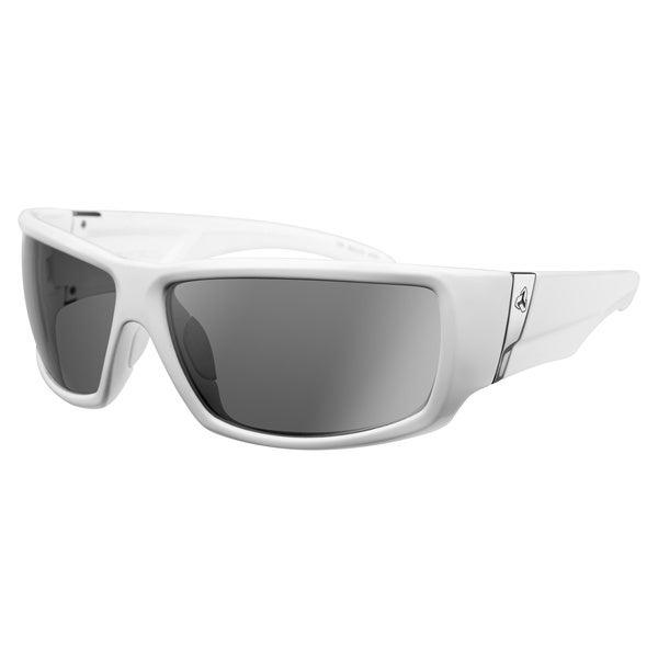Ryders Unisex Bison White Grey Lens Sunglasses