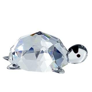 Crystal Florida Crystal Turtle Figurine
