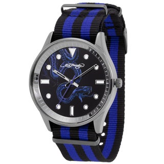 Ed Hardy Men's Maverick Blue/ Black Watch