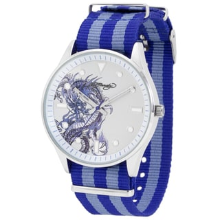 Ed Hardy Men's 'Maverick' Blue Strap Watch