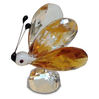 Crystal Florida Small Butterfly Figurine