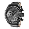 Swiss Legend Men's Pilot Chronograph Charcoal Dial Watch