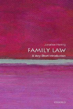 Family Law: A Very Short Introduction (Paperback)