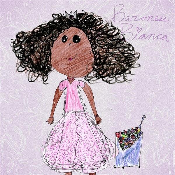 'Amberton Publishing Baroness Bianca' Canvas Art