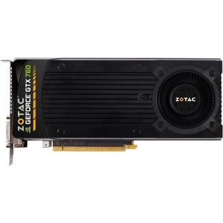 Zotac ZT-70406-10P GeForce GTX 760 Graphic Card - 993 MHz Core - 4 GB