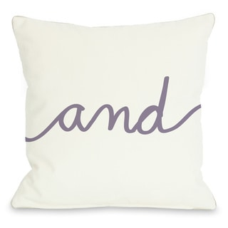 And Mix and Match Grape Throw Pillow