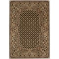 kathy ireland Home Villa Retreat Chocolate Area Rug (7'9 x 10'10)