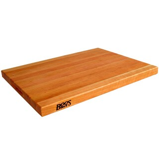 John Boos CHY-R02 Reversible Cherry 24x18 inch Wood Cutting Board