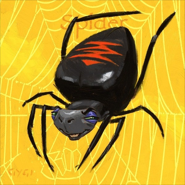 Amberton Publishing Spider Canvas Art